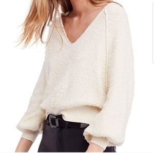 Free People Found My Friend V-neck Sweater